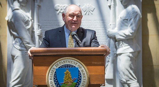 U.S. Secretary of Agriculture Sonny Perdue. (U.S. Department of Agriculture, Flickr/Creative Commons)