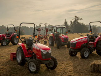 Hesston Windrower by Massey Ferguson WR9800 and WR9900