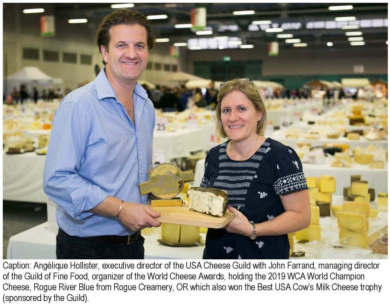 United States win Best Cheese Award